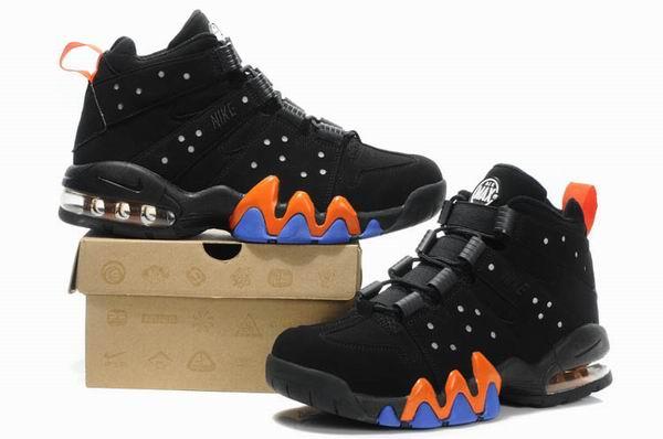 "save off fbe07 339ea Nike Air Max Barkley ""Black Safety Orange-Purple""   Bluepants blog"