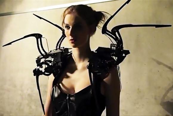 Robotic-Spider-Dress