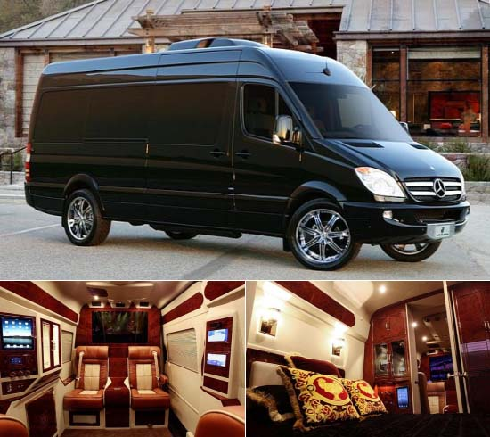300 000 mercedes sprinter van by lexani motorcars boasts for Luxury mercedes benz sprinter