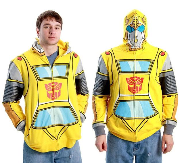 transformers-bumble-bee-hoodie