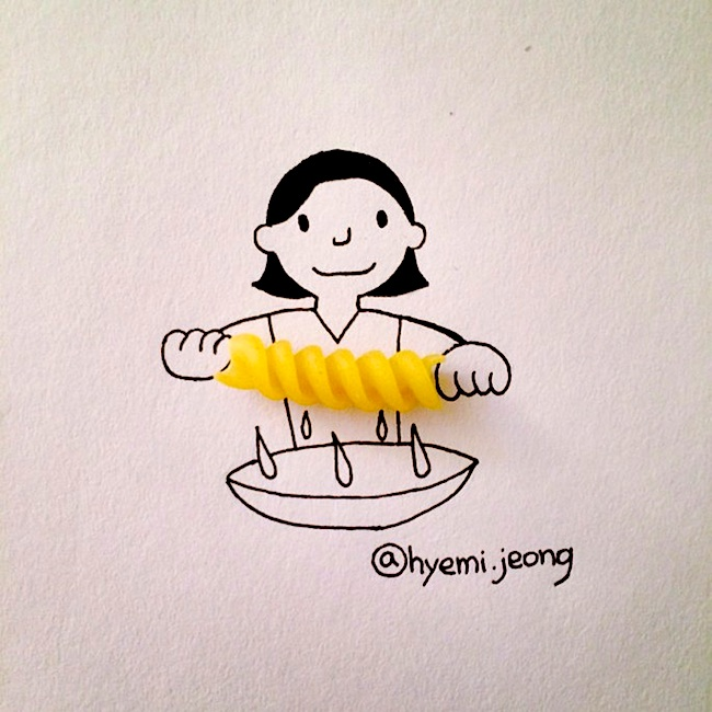Witty_Illustrations_Created_Around_Everyday_Household_Objects_by_Hyemi_Jeong_2014_14